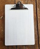 クリップボード A4サイズ ホワイト