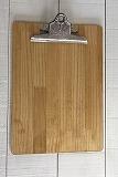 クリップボード A4サイズ ミディアムオーク