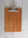 クリップボード A4サイズ オレンジ