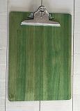 クリップボード A4サイズ グリーン