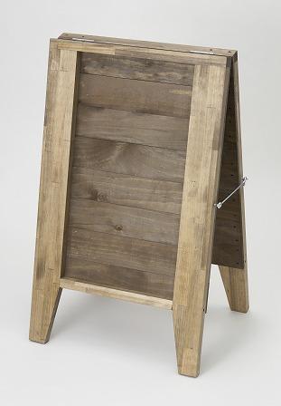 木製A型看板 裏面タイプ
